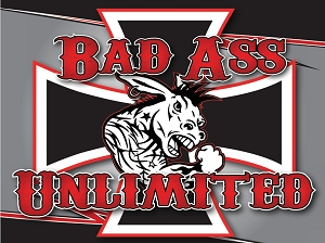 Iron Cross Flag -Bad Ass Unlimited